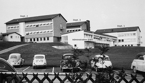 Fig. 1: Max Planck Institute for Virus Research 1960.