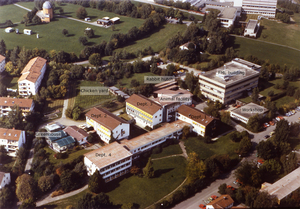 Fig. 3: Max Planck Institute for Virus Research plus FML 1970
